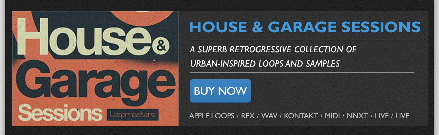House & Garage Sessions Loopmasters