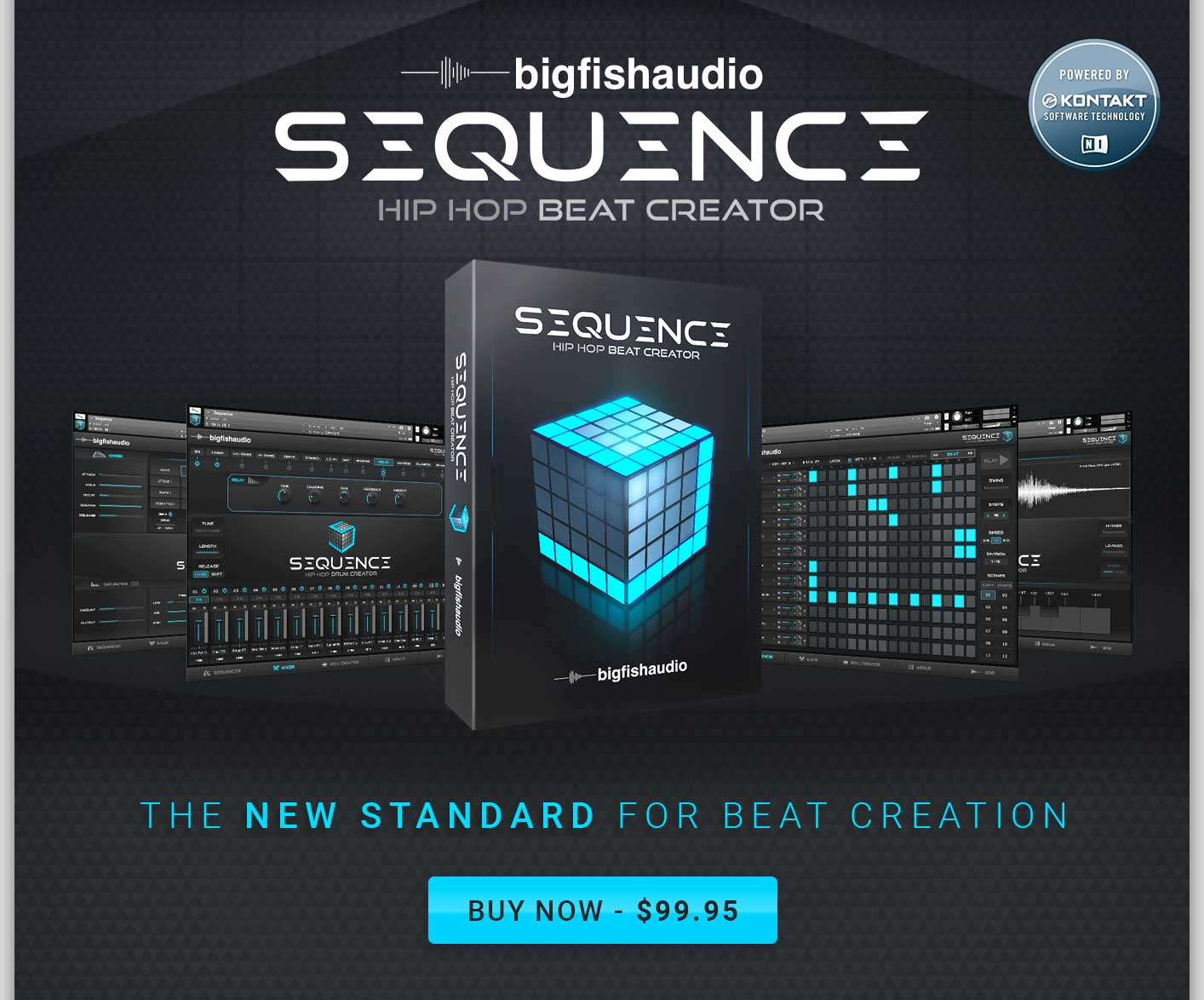 Big Fish Audio Now Available! Sequence: Hip Hop Beat Creator! Beat