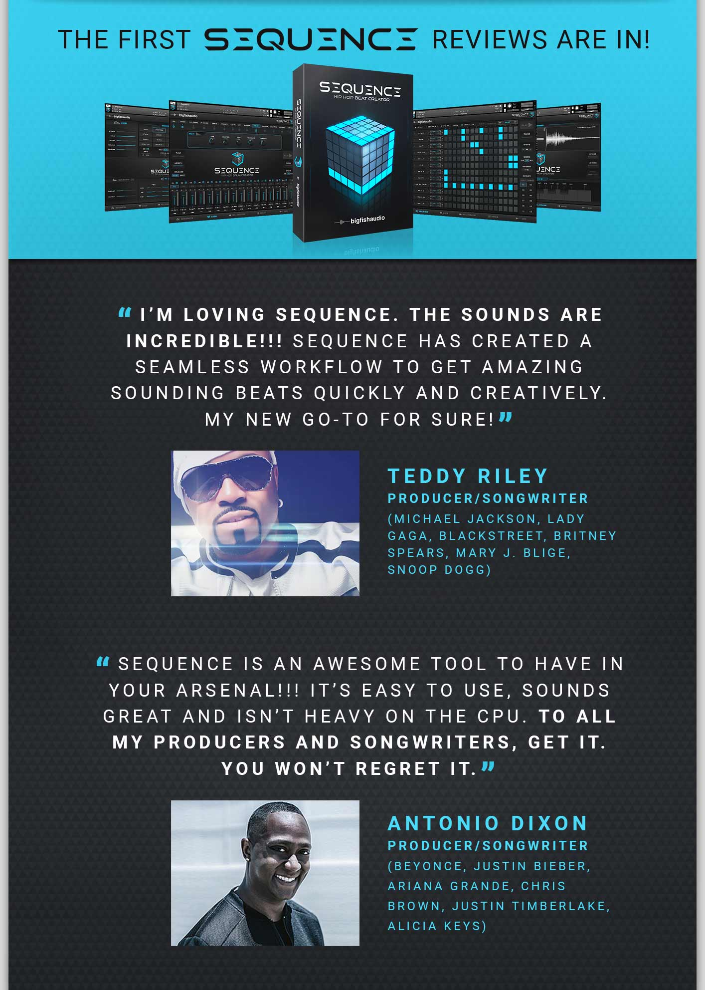 Big Fish Audio Sequence: Hip Hop Beat Creator First Reviews