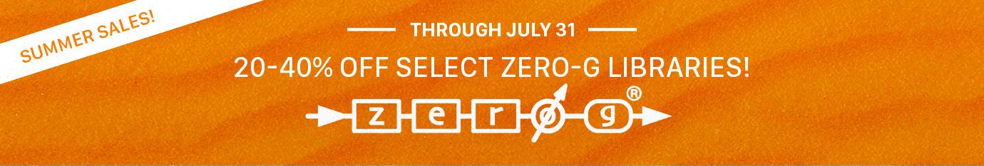 Summer Sale Zero-G