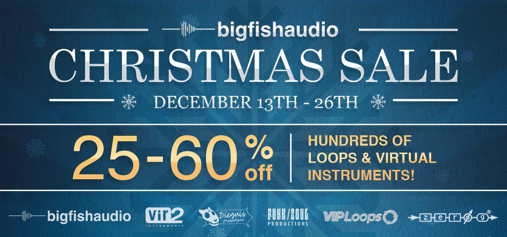 Big Fish Audio Christmas Sale