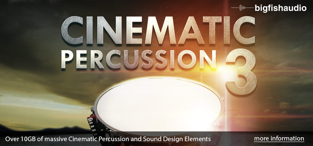 Cinematic Percussion 3