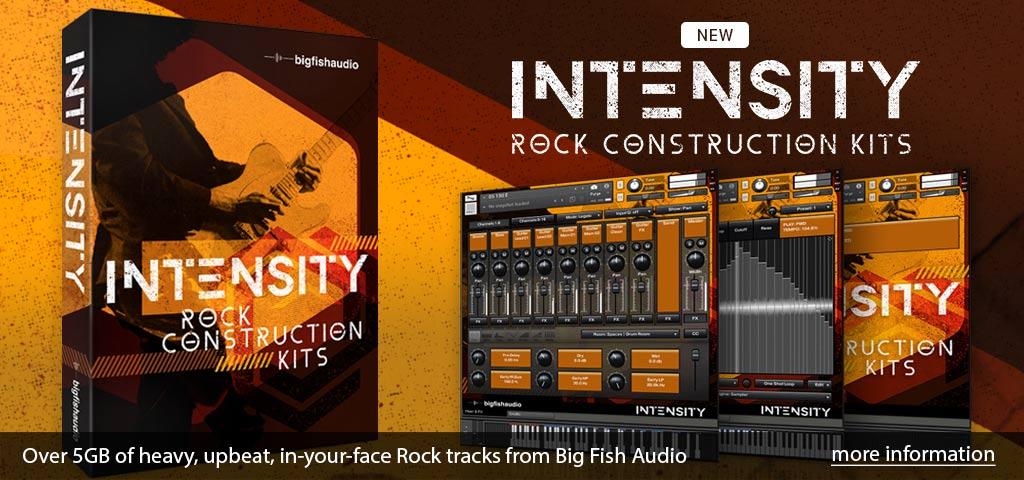 Intensity: Rock Construction Kits