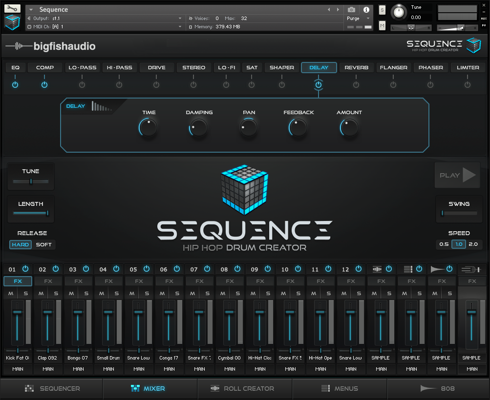 Big Fish Audio Sequence GUI 2