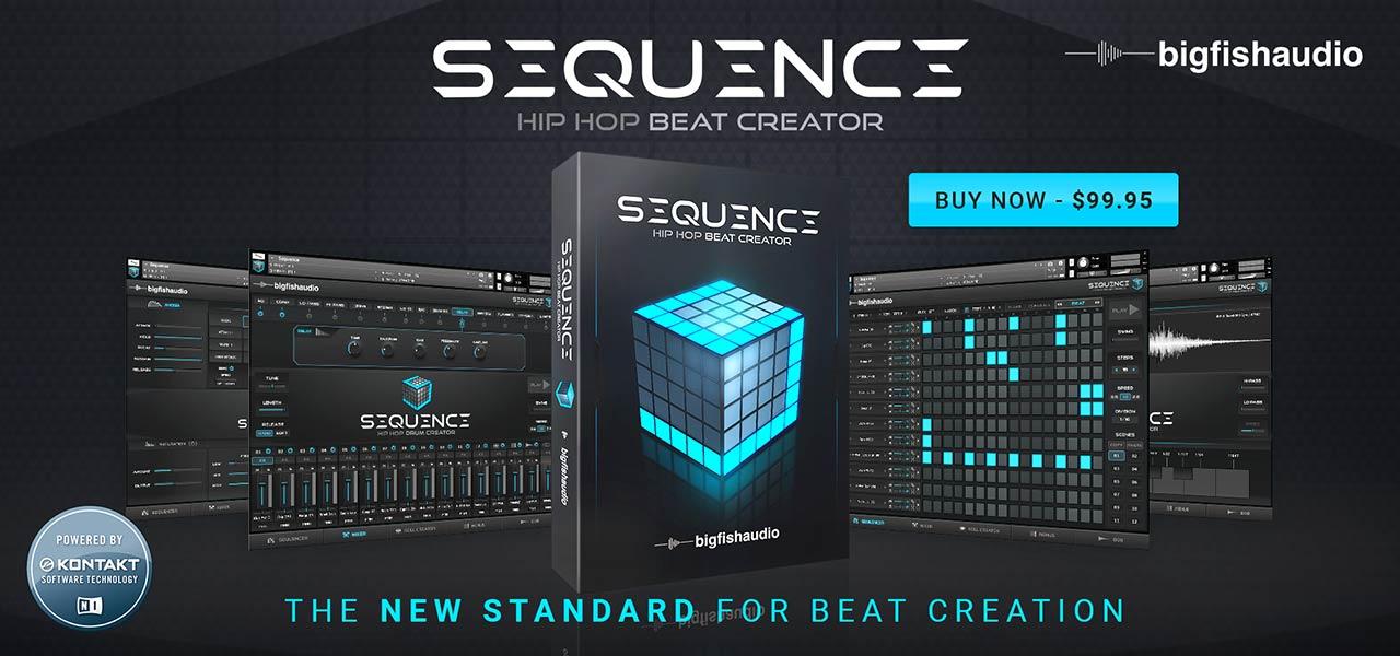 Sequence: Hip Hop Beat Creator