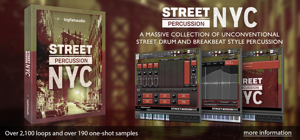 Street Percussion: NYC