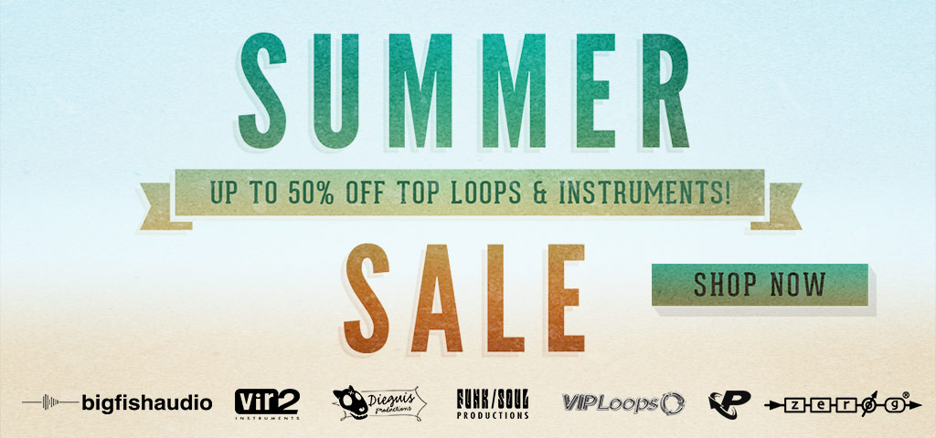 Big Fish Audio Summer Sale 2017