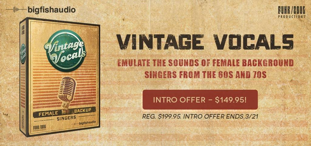 Vintage Vocals Funk/Soul Productions