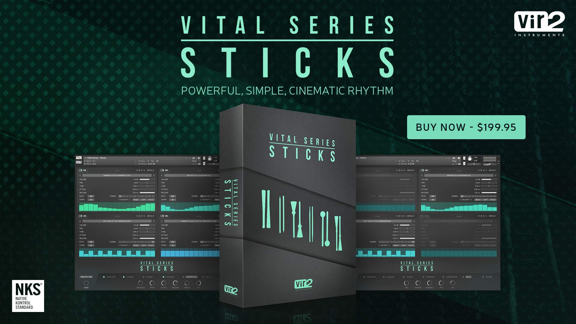 Vir2 Vital Series: Sticks