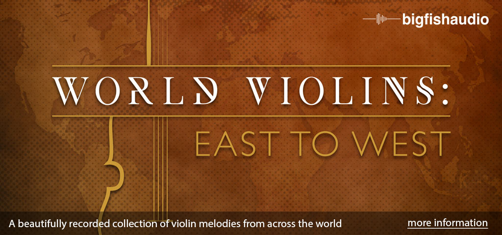 World Violins: East to West