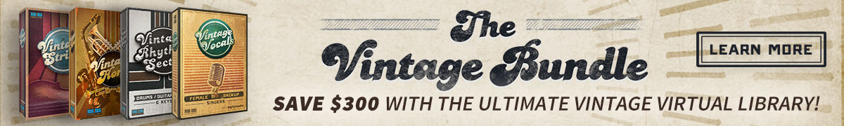 Big Fish Audio The Vintage Bundle